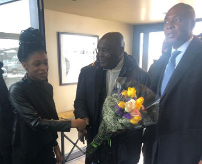 Photos: Atiku Abubakar arrives Washington DC for a meeting with US government officials