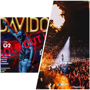 History made as Davido Shut down 02Arena in London on 27 Jan 2019, also with an interesting Entrance to the venue