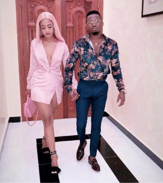 Diamond Platnumz and his fiancee Tanasha step out in style ahead of their February 14th wedding