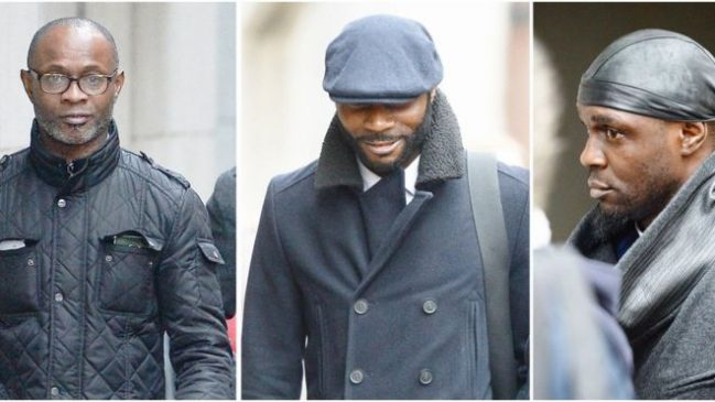 Three Sodje brothers jailed for taking charity money