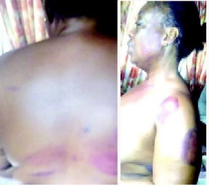 Newly married couple allegedly abduct, strip naked and mercilessly beat a friend accused of stealing the money sprayed at their wedding