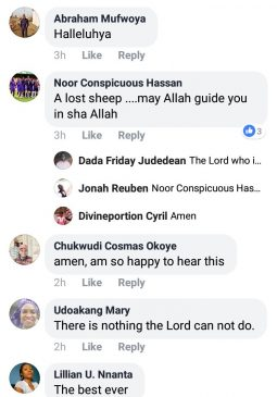 See Reactions To His Post Below