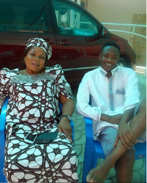 Nigerian footballer, Ahmed Musa loses his mum