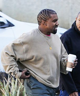 Kanye West shows off dramatic new hairstyle, says he spends $500 everyday on haircuts (Photos)