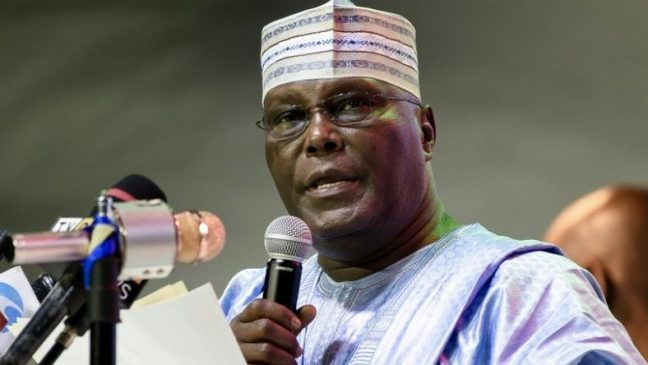 Breaking: Atiku Abubakar rejects 2019 presidential election results.