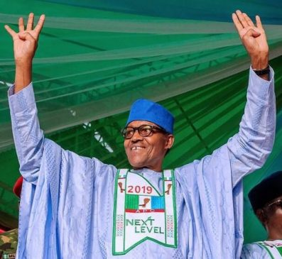 Breaking: INEC declares Muhammadu Buhari as winner of 2019 Presidential election