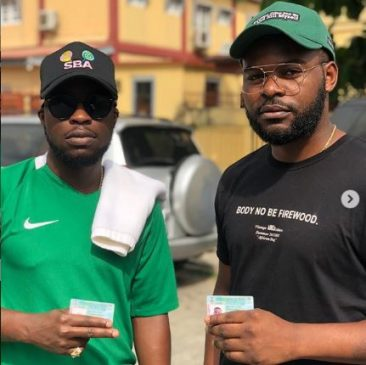 #NigeriaDecides: Singer Falz says PDP won the presidential election at his polling unit in Ikoyi