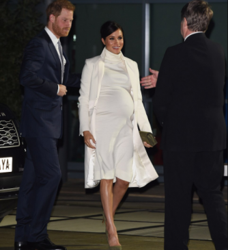 Meghan Markle steps out with Prince Harry for a gala in first appearance since her father leaked her letter