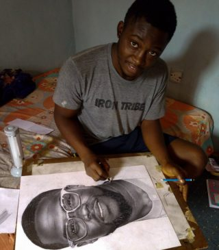 Kevin Hart reaches out to Nigerian boy that drew him out of excitement, promises to help