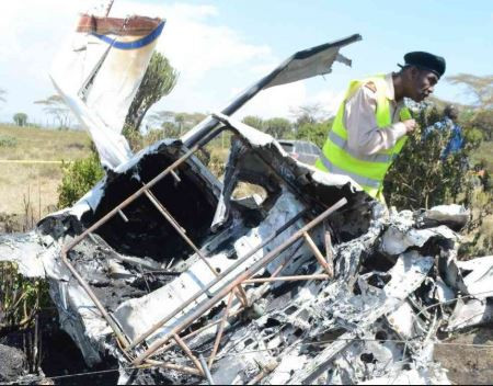 Plane crash kills five people in Kenya