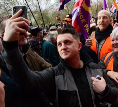 British far-right activist, Tommy Robinson has been banned from Facebook and Instagram for targeting Muslims