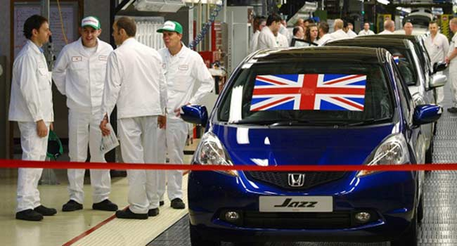 Over 3,000 Jobs At Stake As Honda Plans Shutting UK Plant