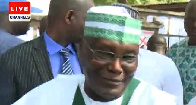 I'm Impressed With The Turnout Of Voters – Atiku