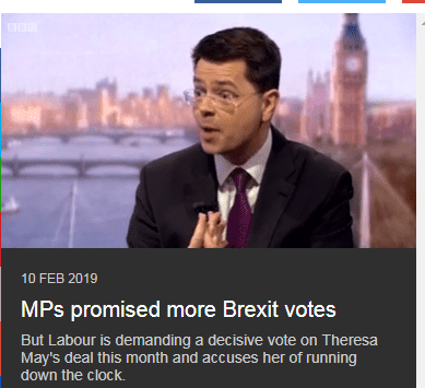 Brexit: MPs may not get vote on May's deal this month (BBC)