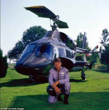 Airwolf star Jan-Michael Vincent dies at 74 after suffering cardiac arrest