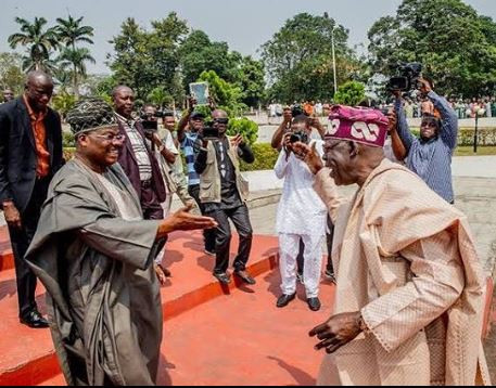 Bola Tinubu bans Ajimobi from appearing at APC governorship rallies