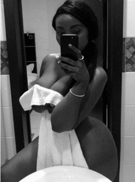 Curvy Tanzanian model, Sanchi goes viral on Instagram with naked photos