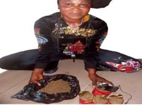 Woman caught trying to smuggle Indian Hemp into Ikoyi Prisons