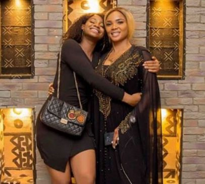 Iyabo Ojo's daughter apologizes to her mum for celebrating her 18th years birthday at a strip club