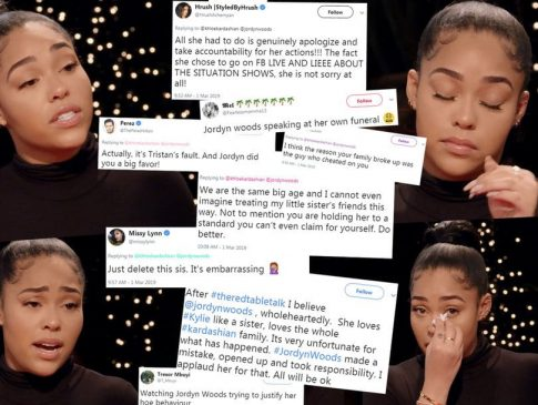 Check out Twitter reactions to Jordyn Woods' first Interview since the Tristan Thompson cheating scandal