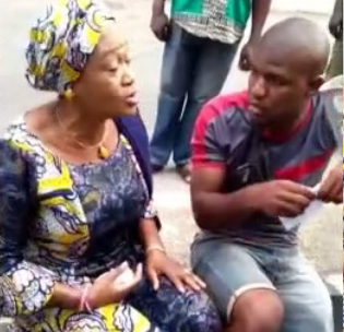 "Video: ""You Igbos, we don't trust you anymore"" Oluremi Tinubu tells a voter at her polling unit"
