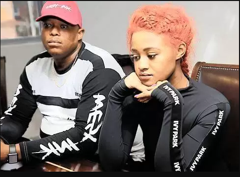 Watch the moment South African singer Babes Wodumo got assaulted on Instagram Live by boyfriend, DJ Mampintsha (Video)