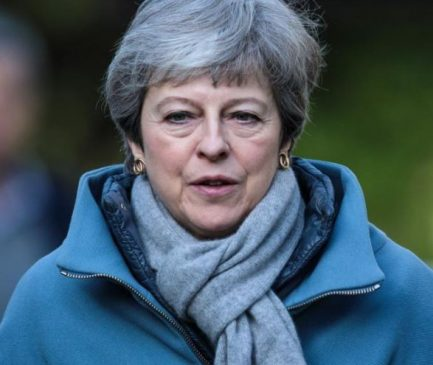 Breaking: UK Prime Minister, Theresa May says she will resign once her Brexit deal gets approved by Parliament
