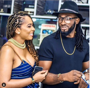 Uti Nwachukwu reacts to rumours he's expecting a child with Tboss, declares her his 'WCW all day