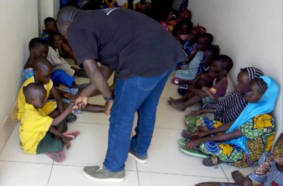 Photos: 157 children from Nigeria, Burkina Faso, Benin, Togo among 220 human trafficking victims rescued in operation coordinated by INTERPOL