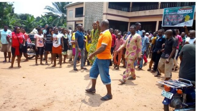24-year-old man kills his 65-year-old dad in Anambra, sets his corpse ablaze