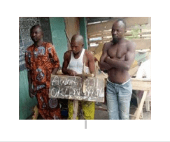 Photos: Bricklayer, two others arrested for stealing human parts from church's cemetery
