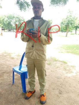 Corps member mysteriously dies three days after his traditional wedding