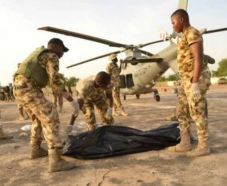 Helicopter blade chops off the head of Air Marshal In Borno State