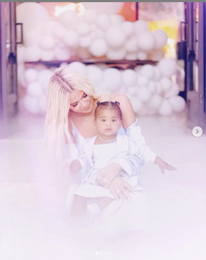 Khloe Kardashian shares more beautiful photos from her daughter True Thompson's first birthday bash (Photos)