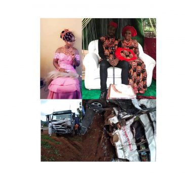 lecturer by name Amarachi Sandra Olua, dies in fatal accident two days after her wedding