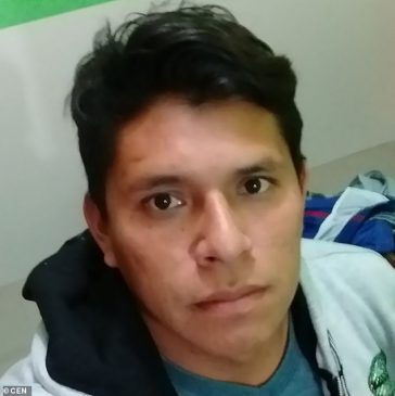 Footballer, 27, dies of cardiac arrest after drinking a glass of cold water at end of match in Peru