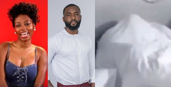 Video: Watch #BBnaija housemates, Gedoni and Khafi, having sex