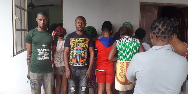 Hotel where underage girls sleep with men for N500 and N1,000 found in Ogun