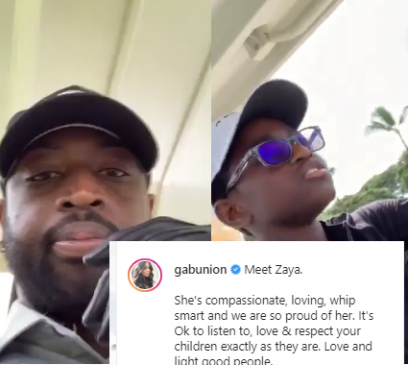 Dwyane Wade's 12-year-old child switches gender – Gets support from celebrities