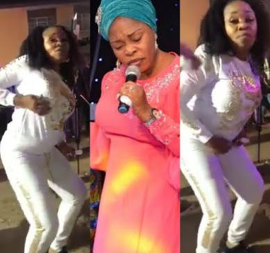 Gospel singer Tope Alabi reacts after being criticized over her 'worldly' dance step