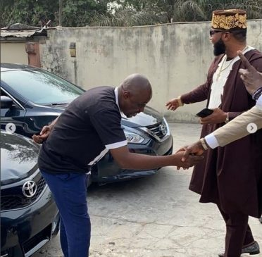 E-Money Gives Out Cars To His Staff On His Birthday