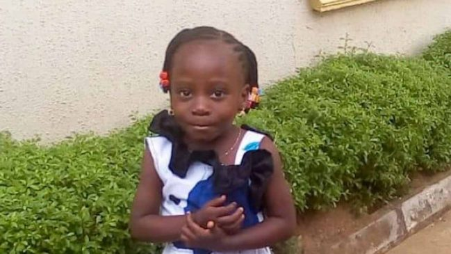 Four Year Old Girl Who Disappears While Going To Plait Her Hair In Ikorodu