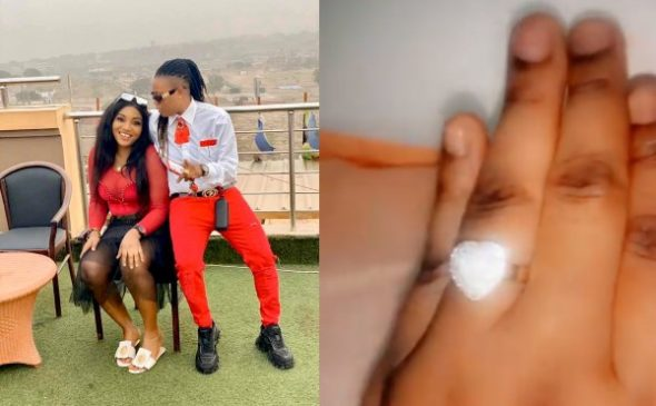 Watch video of a lady in Edo State that proposed to her girlfriend