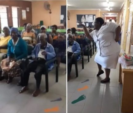 Meet SouthAfrican Nurse Who Dances For Her Patients to recover