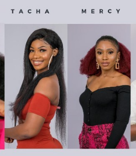Mercy and Tacha of BBN exchange words on instagram